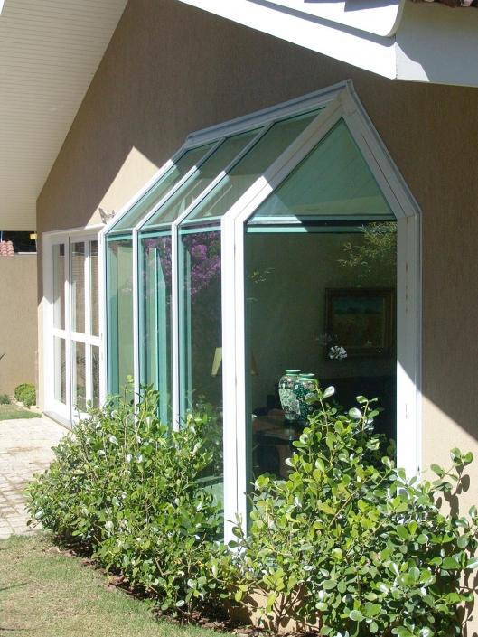 Cobertura de Vidro / Cobertura em Vidro