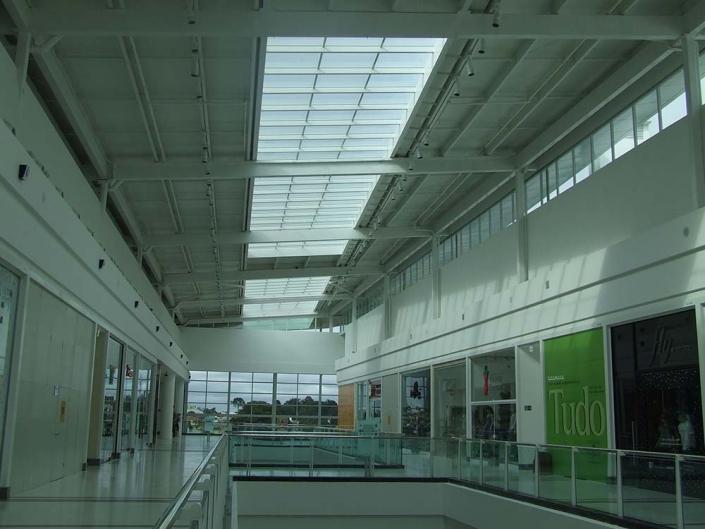 Guarda corpo de Vidro / Telhado de Vidro